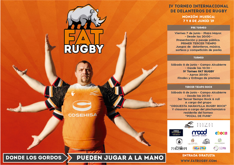 Fat Rugby 2019