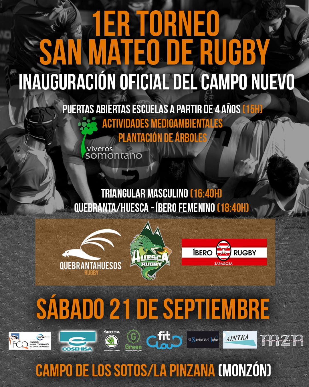Inauguración Campo Rugby Monzón