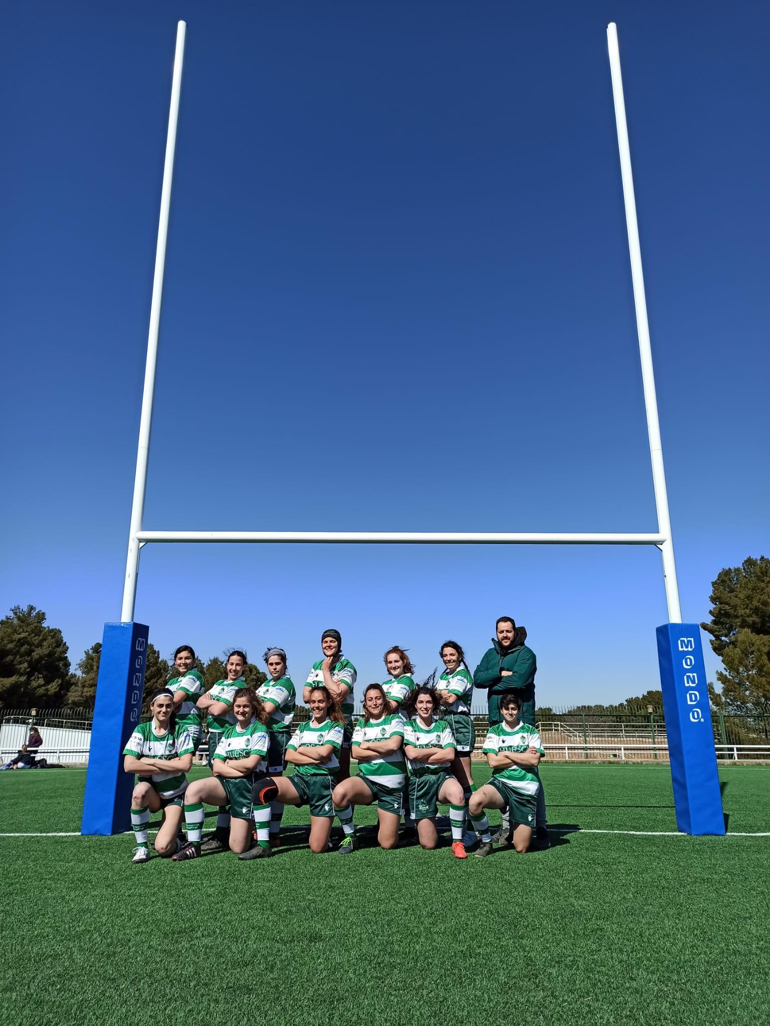 Huesca Rugby Seven Femenino J1 liga aragonesa 2021