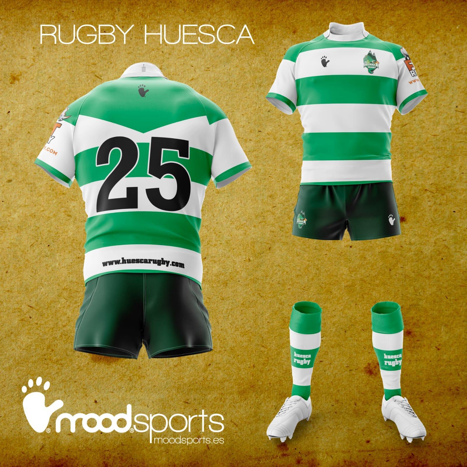 Equipaciones Completas Huesca Rugby