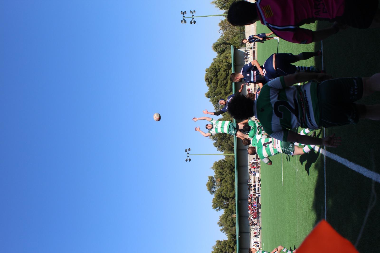 Fénix emerging - Huesca Rugby J4 liga aragonesa 2021